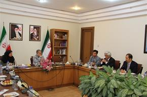 APO S.G Mari Amano Meets Head of Iran Management and Planning Organization, Dr. Nobakht